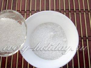 соединить соль и сахар
