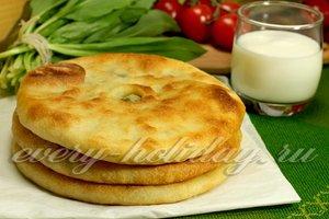 рецепт осетинских пирогов
