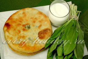 рецепт соленых осетинских пирогов