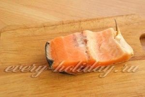 разморозите рыбу