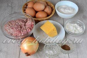 Ингредиенты для приготовления «Праздничного рулета»