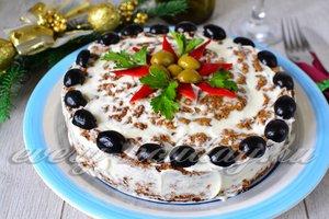 рецепт печеночного торта