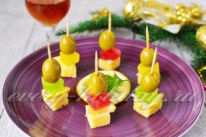 Канапе к коньяку на праздничный стол рецепты