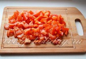Шинкуем помидоры