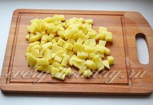 Шинкуем картофель