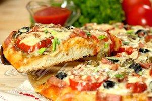 как приготовить пиццу на дрожжевом тесте