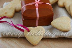 Печенье на сгущенном молоке «Сердечки»