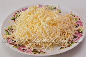 потереть колбасный сыр