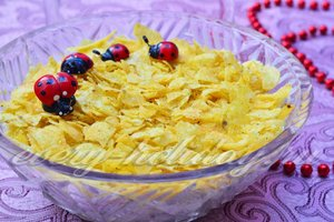 салат с чиспами рецепт
