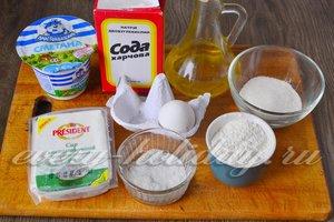 Ингредиенты для приготовления творожников