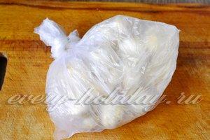оставляем грибы для маринования