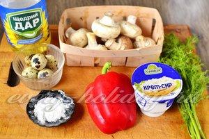 Ингредиенты для приготовления новогодней закуски Петушки