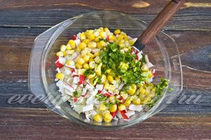 Добавить кукурузу