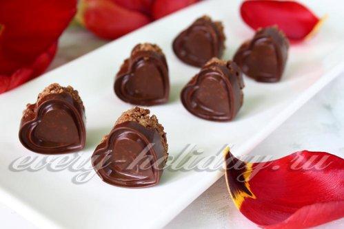 Шоколадные конфеты из геркулеса