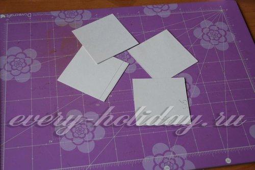 Еще квадраты из бумаги