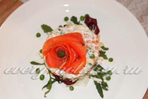 Праздничные салаты с фото от шеф-поваров