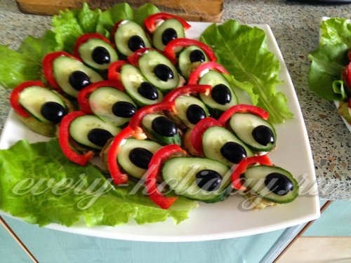 Вкусные салаты и закуски к праздничному столу рецепты поваренок