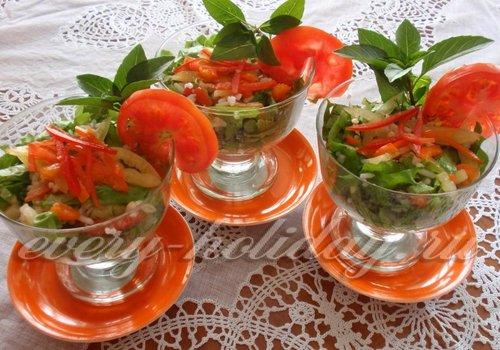 Фото рецепт салата-коктейля