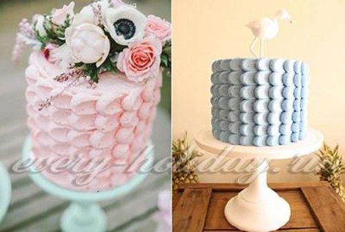 Как украсить торт в домашних условиях фото пошагово