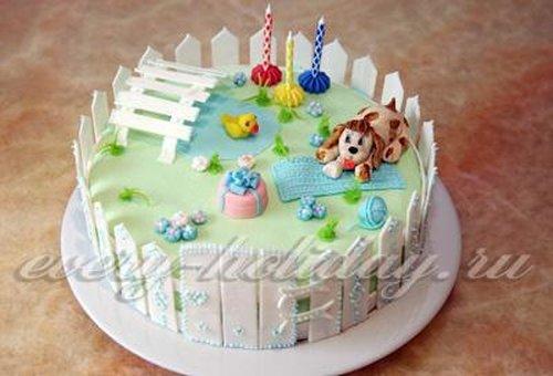 Как украсить торт в домашних условиях пошагово