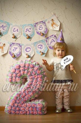 Цифра на день рождения своими руками для девочка