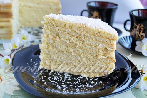 Домашний торт «Рафаэлло»