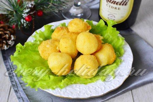 Рецепт сырных шариков пошаговый рецепт