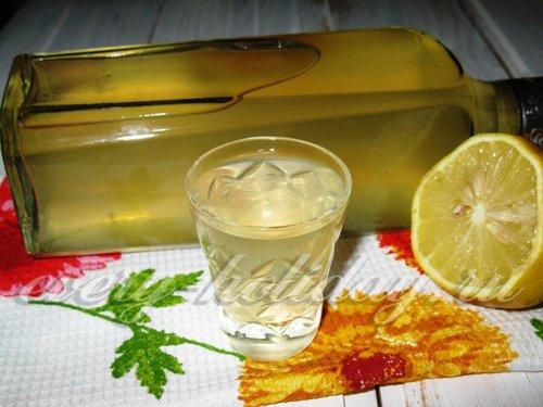 Настойка на водке с лимоном и апельсином