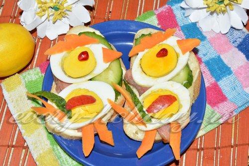 Бутерброды на новый 2017 год