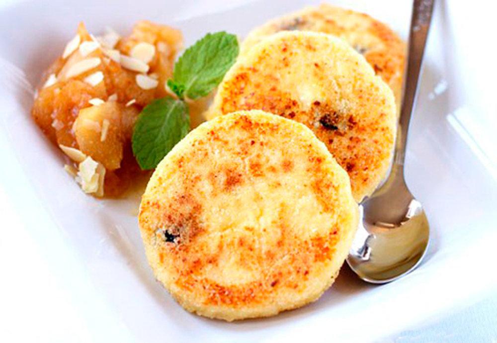 Сырники из творога в духовке рецепт с манкой.