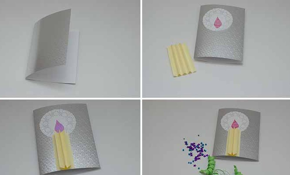 нашли нужный как сделать открытку со свечей периоды формирования
