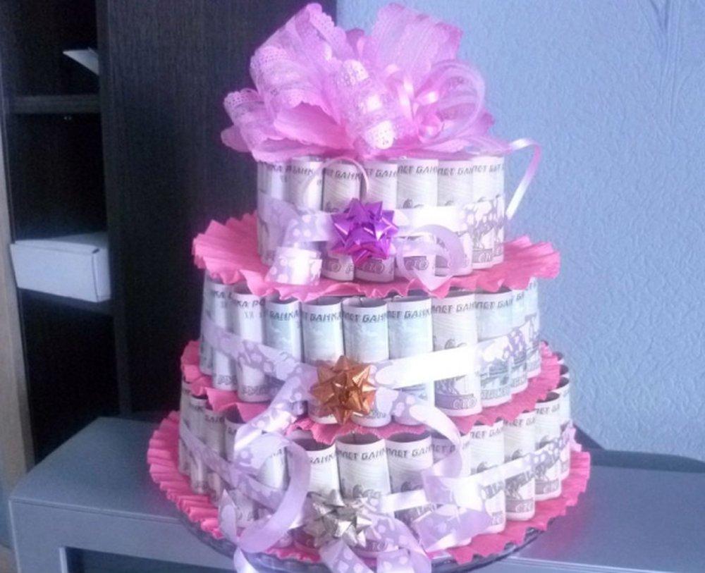 торт из денег на свадьбу поздравление хотя