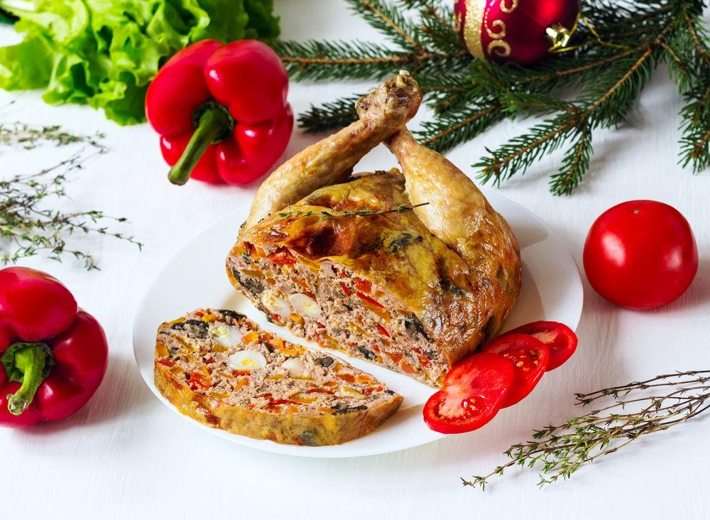 вторые блюда на новый год рецепты фото одна идея новогодней