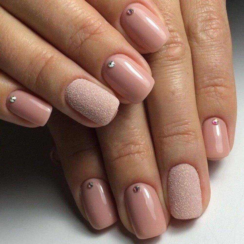 покрытие гель лаком на короткие ногти фото девочка