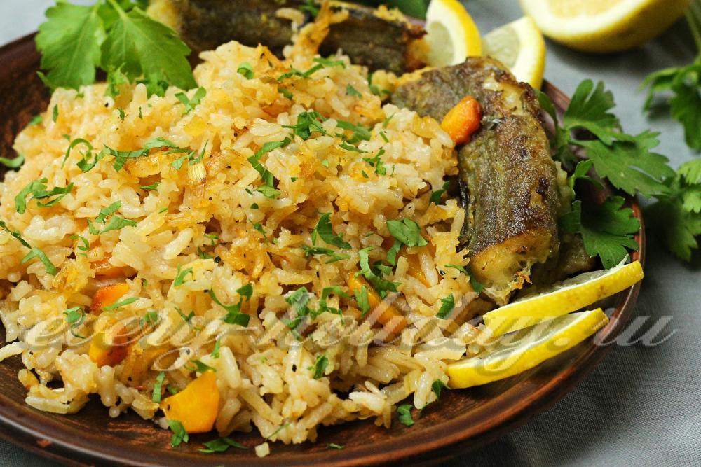 Рецепт рыбы с рисом и овощами — pic 2