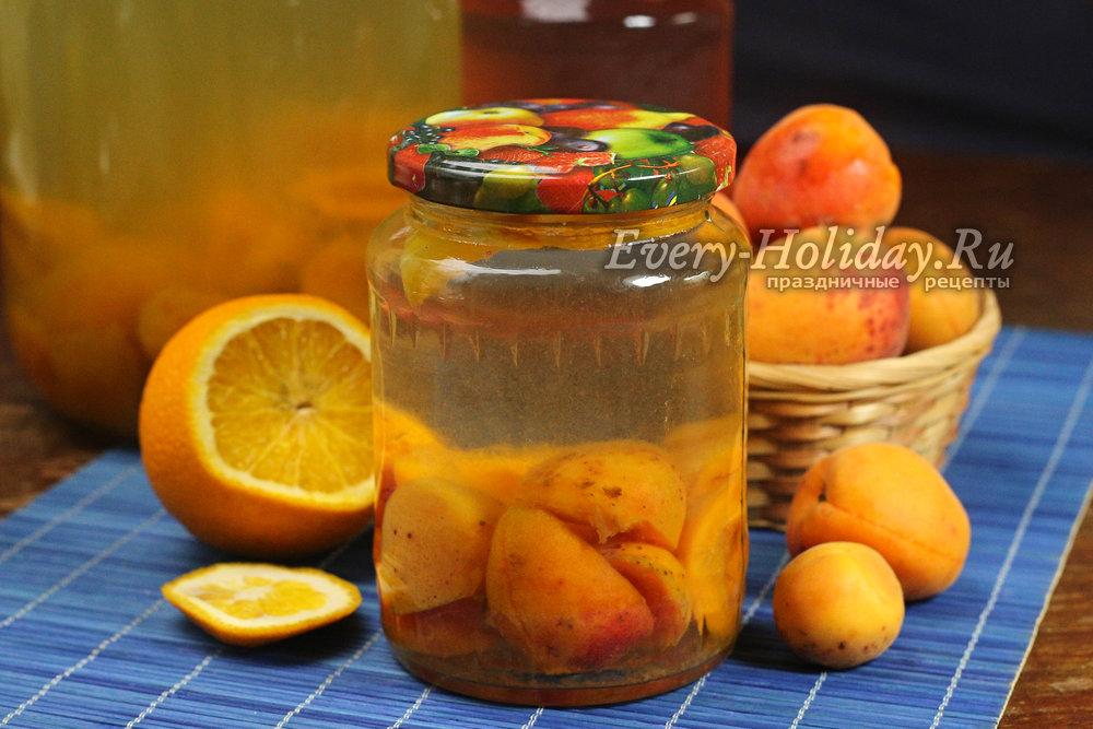 Пошаговые рецепты приготовления компота из абрикосов на зиму со стерилизацией и без стерилизации, с косточками и без них: варианты компота из абрикосов с апельсинами, смородиной, малиной, черешней.