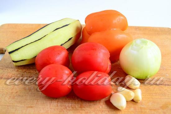 Овощи очистить