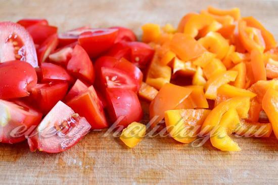 Перец и томаты режим