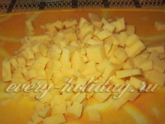 Сыр порежем