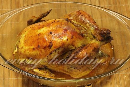 запечем курицу