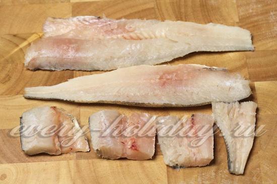Разделаем рыбу на филе