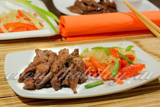 рецепт говядины по китайски