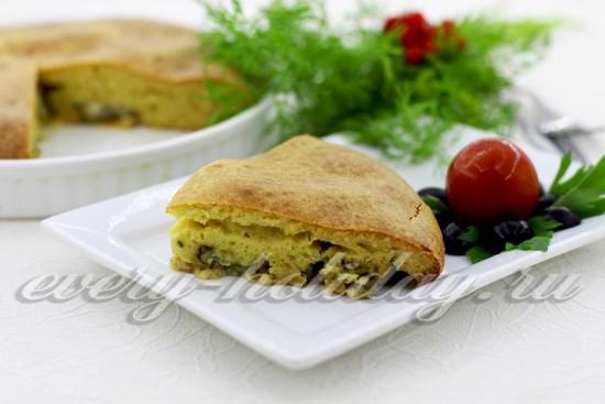 рецепт рыбного пирога на кефире