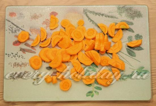 добавляют морковь