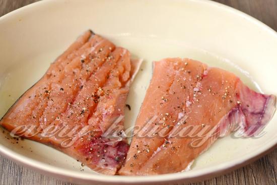 рыбу нарезать
