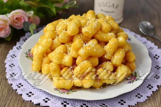Торт из кукурузных палочек рецепт с фото пошагово классический