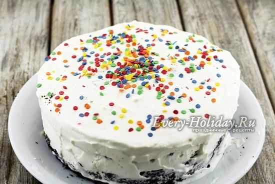 Украсить торт