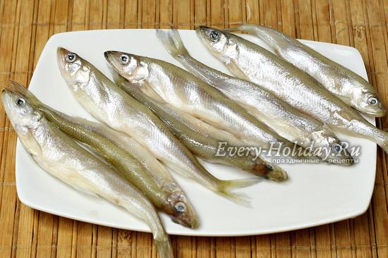 подготовили рыбу