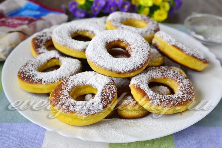 Как сделать пончики в домашних условиях круглые фото 758