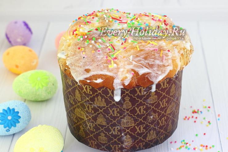 Пасхальный кекс Панеттоне из Италии